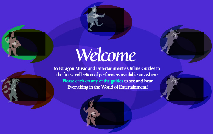 Welcome to Paragon Music and Entertainment's Online Guide